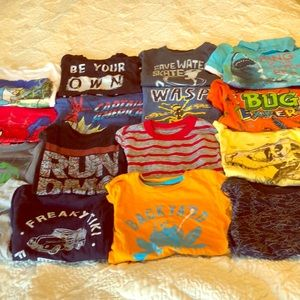 Other - Bundle (16) short sleeve boys 5/5t or xs tops